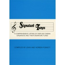 Organists Signature Tunes (1986) (Booklet)