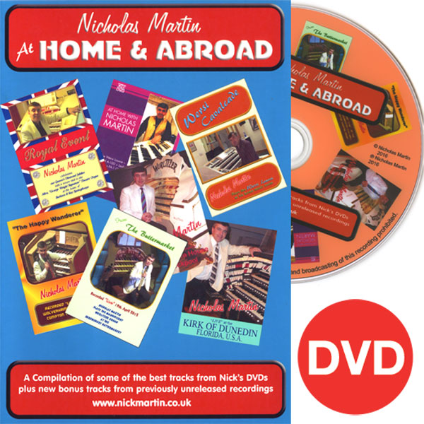 Nicholas Martin- At Home and Abroad DVD
