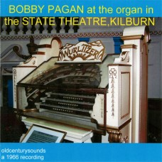 Bobby Pagan at the Organ of the State Theatre, Kilburn (2011)